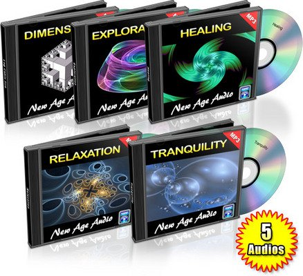 Pay for 5 New Age Relaxation Audios MRR