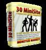 Thumbnail 30 MiniSite Power HOT Niche Templates