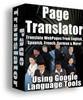 Thumbnail Web Page Language Translator