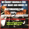 Thumbnail 2003 OPEL ASTRA G SERVICE AND REPAIR MANUAL