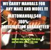 Thumbnail 2000  Ford Contour  SERVICE AND REPAIR MANUAL