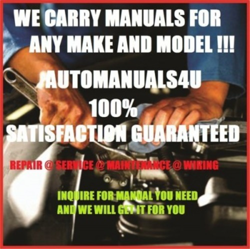Pay for 2001 Cadillac Seville Service and repair Manual