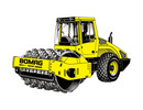 Thumbnail BOMAG Single drum wheel drive vibratory roller BW 211 D-3 Service Repair Manual - Download!