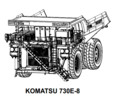 Thumbnail KOMATSU 730E-8 DUMP TRUCK SERVICE REPAIR MANUAL + FIELD ASSEMBLY MANUAL