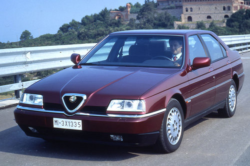 alfa romeo 164 car service repair manual 1991 1992 1993. Black Bedroom Furniture Sets. Home Design Ideas