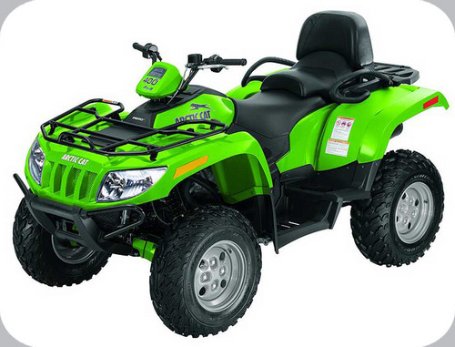 2009 Arctic Cat 400 Trv  500 Automatic  500 Manual  550 H1  550 H1 Trv  700h1  700 H1 Cruiser