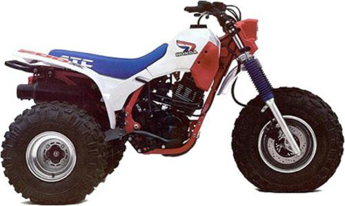 Honda Atc 200x Service  U0026 Repair Manual  1983 1984 1985