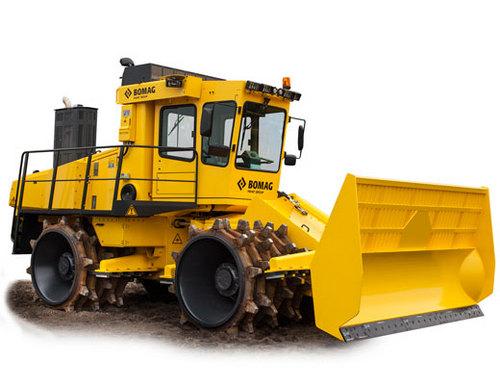 Landfill Compactor Maintenance : Bomag sanitary landfill compactor bc rb