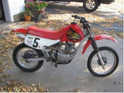 honda xr80r xr100r motorcycle service repair manual. Black Bedroom Furniture Sets. Home Design Ideas