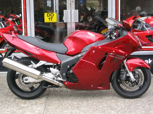 Pay For Honda Cbr1100xx Blackbird Motorcycle Service