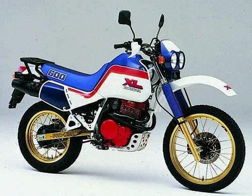 Honda Xl600r    Xr600r Motorcycle Service  U0026 Repair Manual  1983 To 2