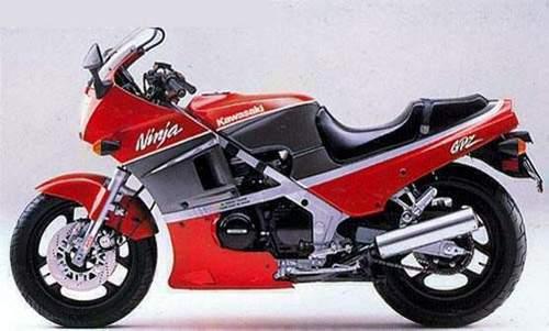 Kawasaki Gpz400  Gpz550  Z500f  Z550f  Z400f  Z400f