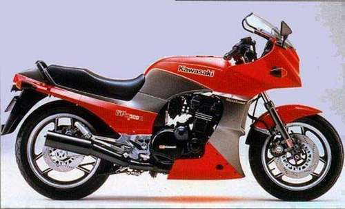1984 Kawasaki Gpz750 Turbo Motorcycle Service  U0026 Repair