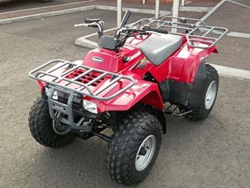 Kawasaki Klf 250  Bayou 250  Workhorse 250 Atv Service