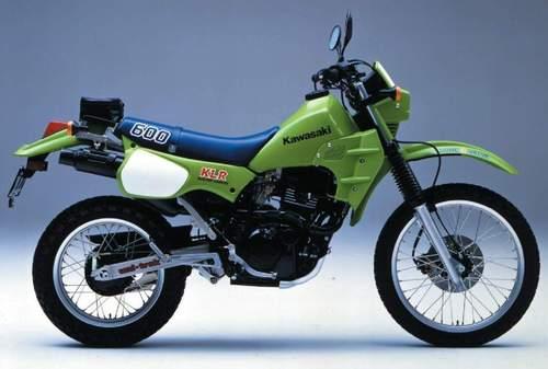 1984 Kawasaki Klr600  Kl600