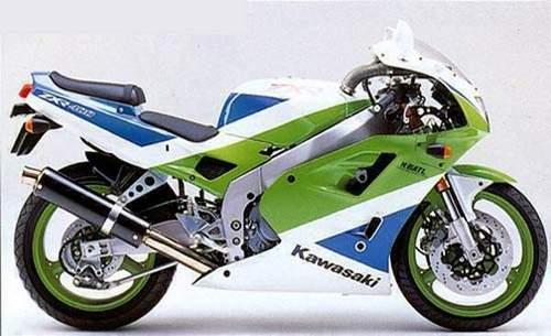 Kawasaki Zxr400h Motorcycle Service  U0026 Repair Manual - Download