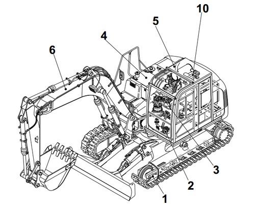 Mini Excavator Parts Diagram 28 Wiring Diagram Images