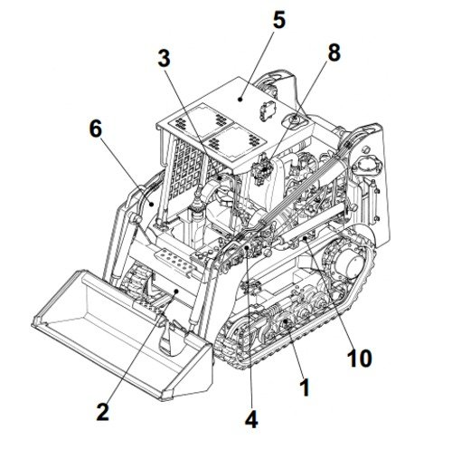 takeuchi tl130 crawler loader parts manual download. Black Bedroom Furniture Sets. Home Design Ideas