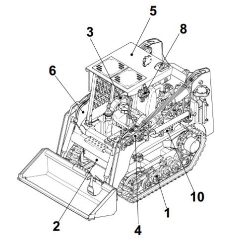 Takeuchi tl130 crawler loader service repair manual download down Mustang Alternator Wiring Diagram Peterbilt Wiring Schematic Freightliner Wiring Schematic on takeuchi wiring schematic