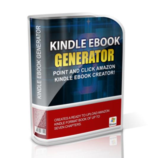 Free Kindle eBook Generator  Download thumbnail