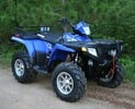 Thumbnail Polaris ATVs and Light Utility Vehicles (Trail Blazer, Trail Boss, Xplorer 300-400-500, Sport 400, Sportsman 500-4x4, Xpress 300-400, Scrambler 400-500-4x4-6x6, Magnum 2x4-4x4-6x6, Big Boss 500 6x