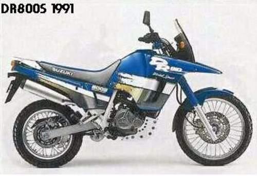 Suzuki Dr750s  Dr800s  Dr750s