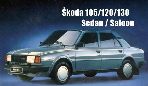 Pay for Skoda 105S, 105L, 120L, 120LE, 120LS, 120LE Passenger Cars Workshop Service Repair Manual 1976-1990 (156MB, Searchable, Printable, Bookmarked, iPad-ready PDF)
