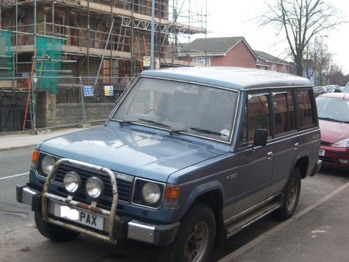 mitsubishi pajero workshop manual pdf download