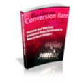 Thumbnail Maximum Conversion Rate Tactics -PLR