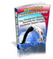 Thumbnail High Ticket Marketing Secrets (PLR)
