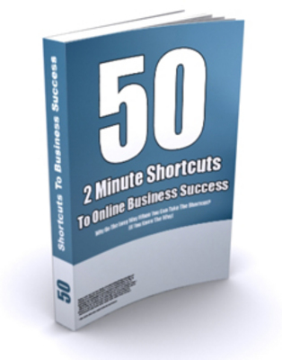 Pay for 50 2-minute Shortcuts To Online Success- PLR