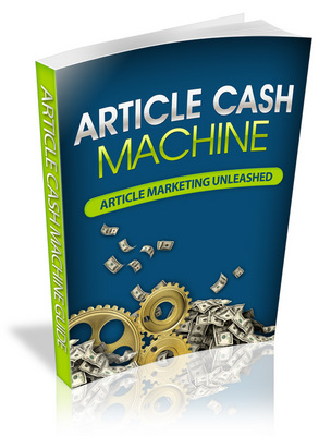 Pay for Article Cash Machine eBook (PLR/RS)