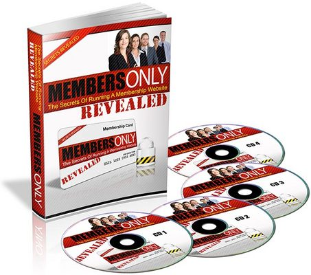 Pay for Members Only eBook & Audio (PLR)