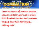 Thumbnail Plr CASh DOMINATION TUTORIALS