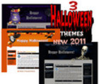 Thumbnail 3 new halloween themes for blogger