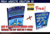 Thumbnail Proxy Site Creation101 WITH MRR