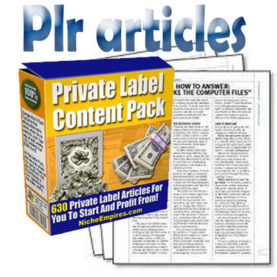 Pay for Private Label Content Pack-Niche articles