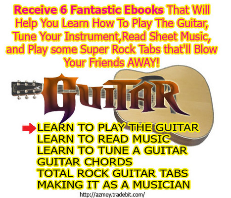 Pay for Learn to Play Guitar - 6 ebooks