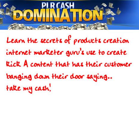 Pay for Plr CASh DOMINATION TUTORIALS