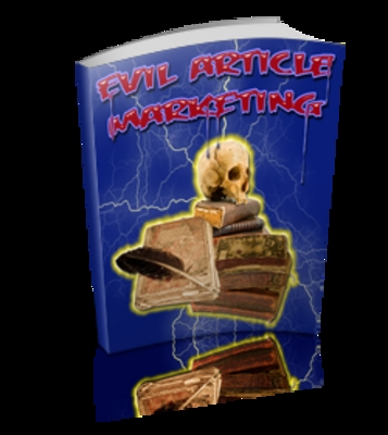 Pay for Evil Articles Marketing