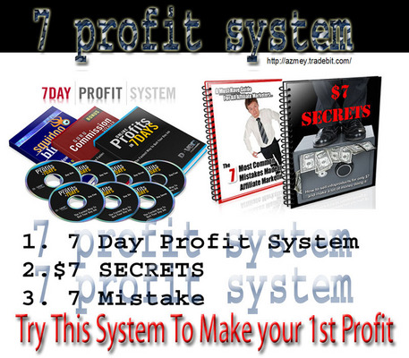 Pay for 7 SECRETS SYSTEM