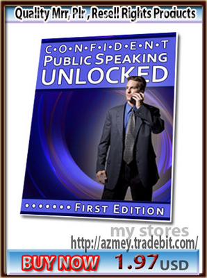 Pay for Confident Public Speaking Unlocked