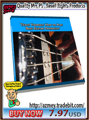 Pay for TEACH YOURSELF BASS GUITAR