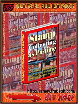 Pay for STAMP COLLECTING AS A PAST TIME