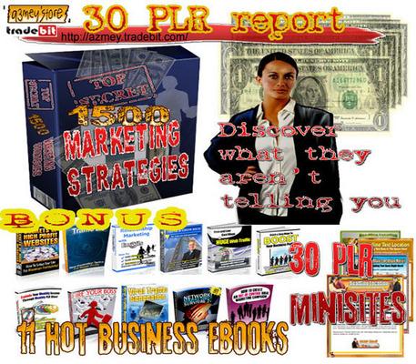 Pay for 1500 MARKETING STARTEGIES SECRETS