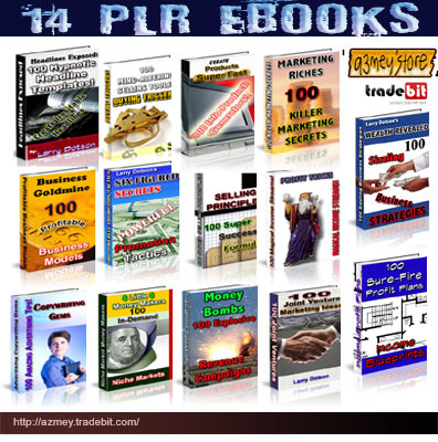 Pay for 14 Master Plr Rights-Ebooks