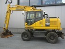 Thumbnail Komatsu PW160-7K Wheeled Excavator* Factory Service / Repair/ Workshop Manual Instant Download! (SN: K40001 and up)