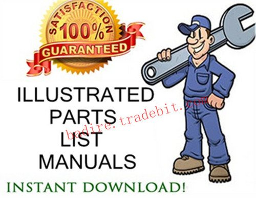 Pay for JLG Gradall Telehandlers 544D ANSI Illustrated Master Parts List Manual Instant Download! (S/N 0355001 thru 0455362 & 0160000192 & After; 91364001)