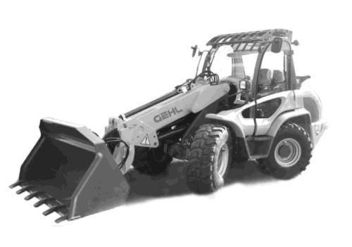 Gehl 480t All Wheel Steer Loader Illustrated Master Parts List Manual Instant Download  Beginning Sn 342100107