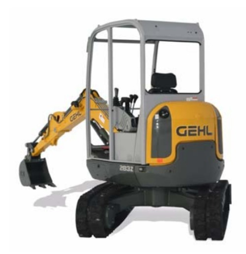 Free Gehl 283Z Compact Excavator Illustrated Master Parts List Manual Instant Download! (Beginning SN: AG00506) Download thumbnail